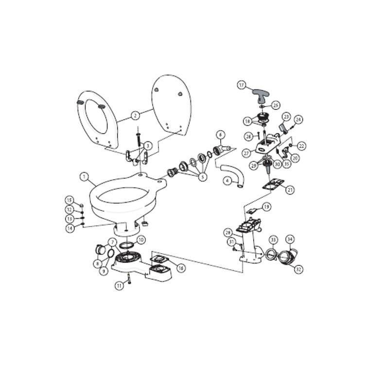Marine Toilet Manual And Parts