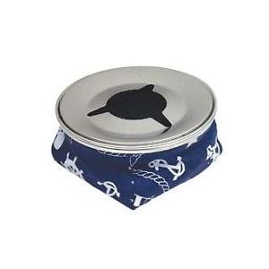 Windproof beanbag ashtray navy