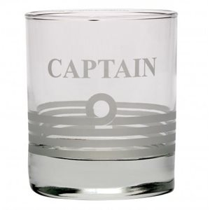 Whisky Tumbler - Captain
