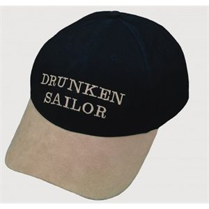 Cap 'Drunken sailor' on size fits all