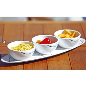 Polaris snack set (4 pc) Melamine