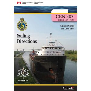 Sailing directions Welland Canal & Lake Erie (en anglais)