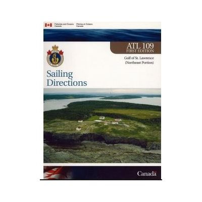Sailing directions Gulf of St-Laurence North East