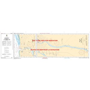 Canadian hydrographic service charts: Richelieu Sorel-Tracy à / to Otterburn-Park