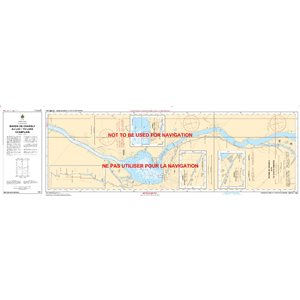 Canadian hydrographic service charts: Richelieu Bassin de Chambly au lac / to Lake Champlain
