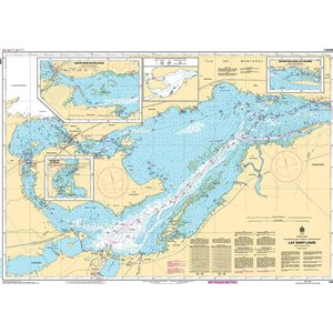 Canadian hydrographic service chart::Lac St Louis
