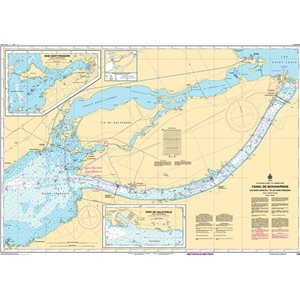 Canadian hydrographic service chart:  Lake St. Francois (North)