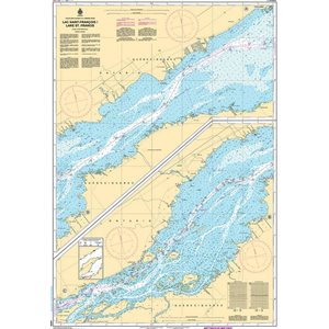 Canadian hydrographic service chart: Lake St. Francois (South)