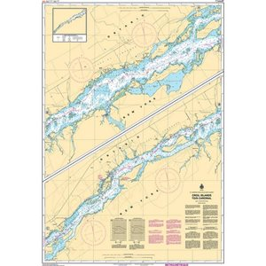 Canadian hydrographic service charts: Croil Islands to / à Cardinal