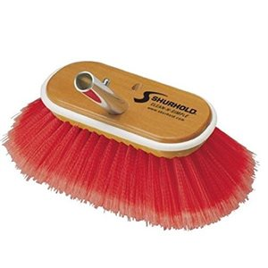 "Combo brush soft / medium   6"", easily and positively locks into any Shurhold handle"