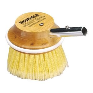 "Round brush 5"" easily and positively locks into any Shurhold handle"