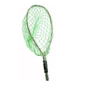 Fishing net fits into any Shur-lock static or telescopic handle