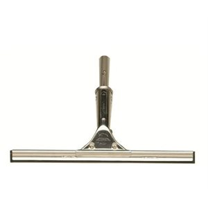 "Squeegee stainless steel 12"" , easily and positively locks into any Shurhold handle"