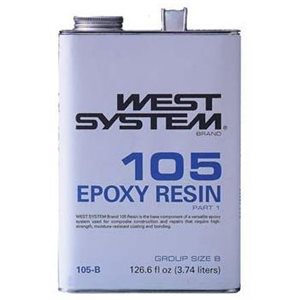 West system 105-B epoxy resin 3.74 L