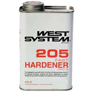 West system 205 hardener fast  814 ml