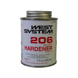 West system 206 slow hardener 207 ml