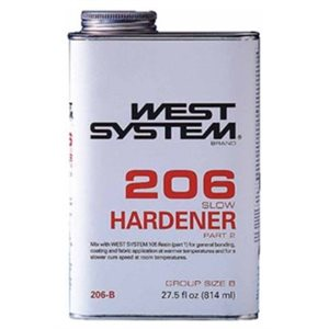 West system 206 slow hardener 814 ml