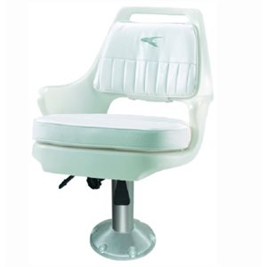 "Pilot Chair with  fore and aft slide and Spider 15"" pedestal"