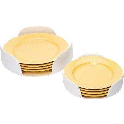 "Plate stacker white 2pk for 7-1 / 4"" and 10-1 / 4"" plates"