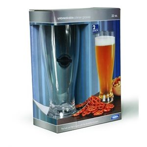 Polycarbonate Pilsner Glasses
