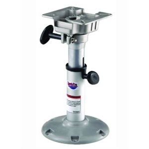 "Lakesport Adjustable™ Bell pedestal with seat mount 14""-20"""