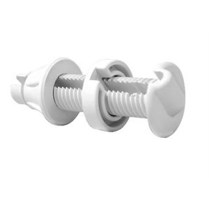 Cable thru-hull fitting white