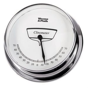 Weems and Plath Chrome Endurance Clinometer