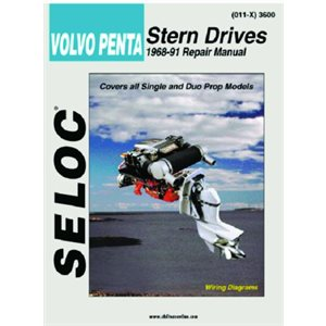 Seloc repair manual for Volvo Penta Stern Drive  1968-1991