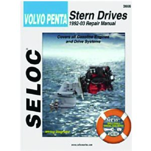 Seloc repair manual for Volvo Penta Stern Drive all gas engines  1992-2002