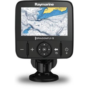 "Dragonfly 5m  5"" with Navionics + Canada  /  USA charts (no sonar) includes northern lakes"