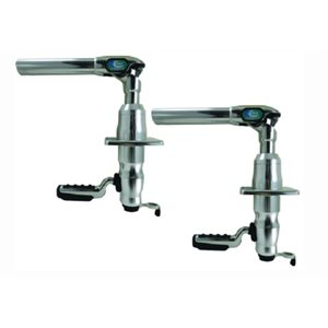 Grand slam 380 outrigger top mount with crank - 1 1 / 2'' dia. pair