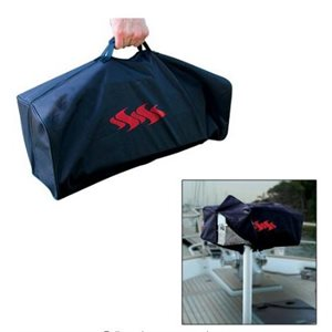 Tote bag and cover for low profile Kuuma BBQ 150, 160