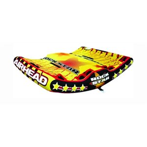 "Airhead Rock Star Inflatable triple rider tube  81"" x 78"""