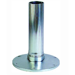 "EEz-in 2.875"" seat base 12"" ribbed stanchion"
