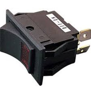 Rocker switch iluminating SPST on / off 15A