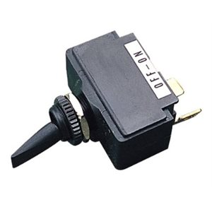 Toggle switch (sp) mom. / off / mom. 15A 12V