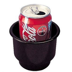 "Drink holder 4"" x 3-1 / 4"" black"