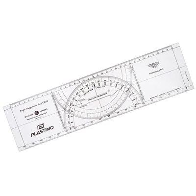 Cras navigation plotter black 38 x 10 cm