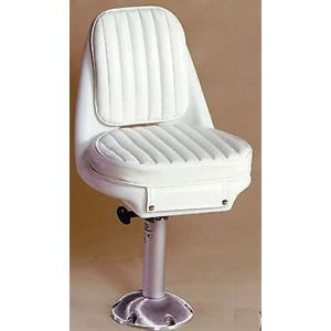 "Springfield pilot chair set 22"" x 18.5"" x 16.5""  vinyl and polyethylene"