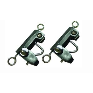 Outrigger Clips (2)  Designed to keep rigger and fishing lines from fouling.
