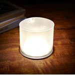 Luci Lux Inflatable solar light white frosted