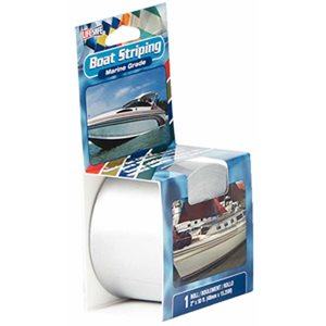 "Boat striping tape white 1 / 2"" x 50'"