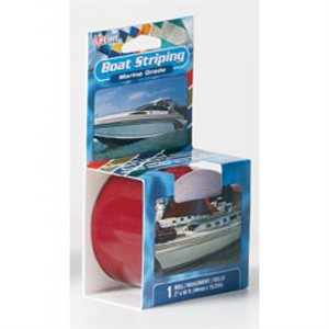 Boat striping tape 1''  x  50' dark red
