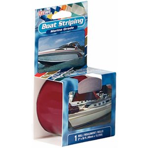 Boat striping tape 1'' x 50' burgundy