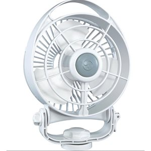 Bora 3 speed fan white 12VDC