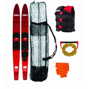 Allegre combo ski package  includes rope, flag, vest & bag  67""