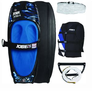 Streak kneeboard package  includes vest rope handle and bag