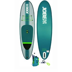 "Aero Yarra SUP inflatable board package 10'6""  with bag, aluminum paddle leash and pump"