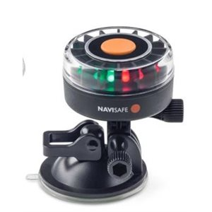 Navisafe tricolor navlight with suction mount 2NM