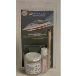 Gelcoat paste kit white 2oz